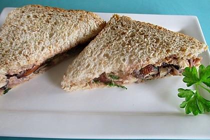 Rustikales Pilz - Sandwich