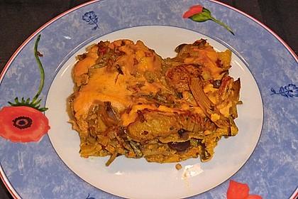 Asiatische Lasagne