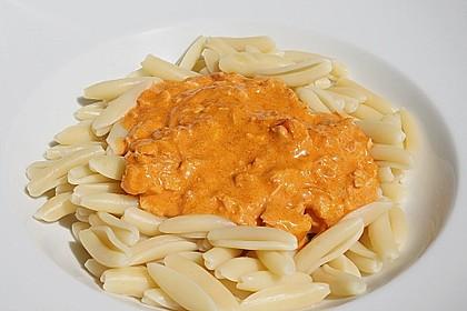 Bens Pasta mit roter Wildlachs - Sahnesauce 0