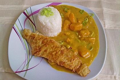 Caths Kürbis - Mango Gemüse in Kokossoße