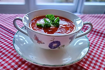 Tomatensuppe 1