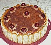 Kirsch - Tiramisu Torte (Bild)