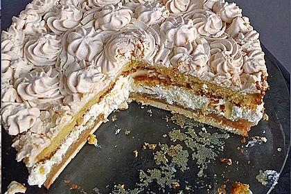 Apfel - Baiser - Torte