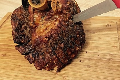 Gegrillte Schweinehaxe 10
