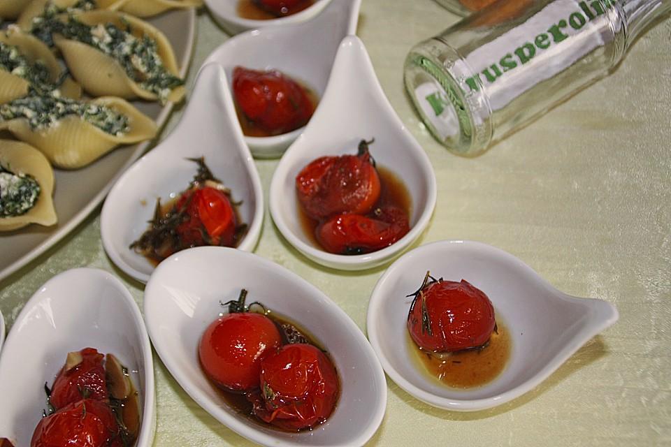 geschmorte balsamico tomaten von bushcook. Black Bedroom Furniture Sets. Home Design Ideas