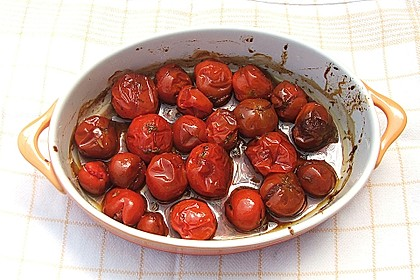 Geschmorte Balsamico - Tomaten 14