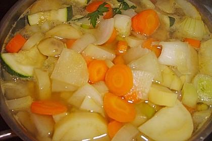 Allerfeinste Gemüsesuppe 2