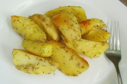 Rosmarinkartoffeln aus dem Ofen 14