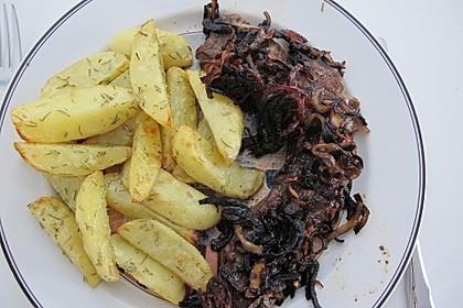 Rosmarinkartoffeln aus dem Ofen 15