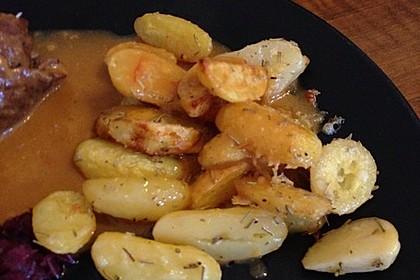 Rosmarinkartoffeln aus dem Ofen 18