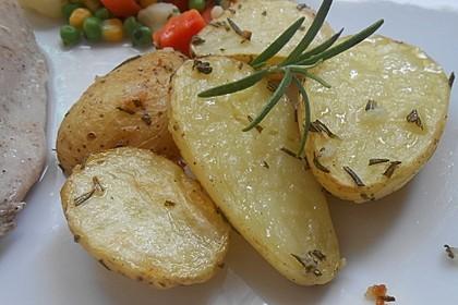 Rosmarinkartoffeln aus dem Ofen 3