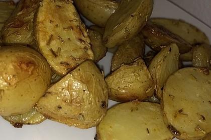 Rosmarinkartoffeln aus dem Ofen 17