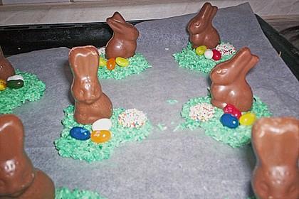 Osternestchen aus Schokolade 5