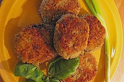 Hirse - Reis - Gemüsefrikadellen 1