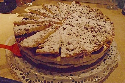 Spekulatius - Kirsch - Torte 27