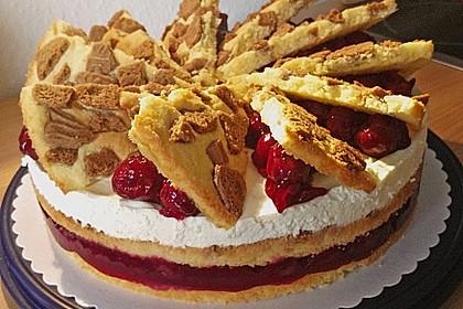 Spekulatius - Kirsch - Torte 3