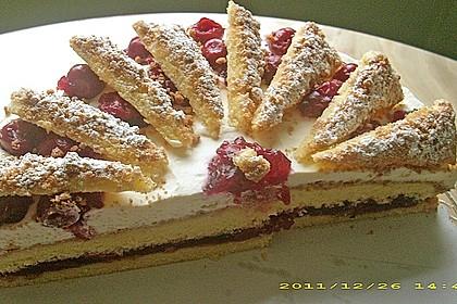 Spekulatius - Kirsch - Torte 8