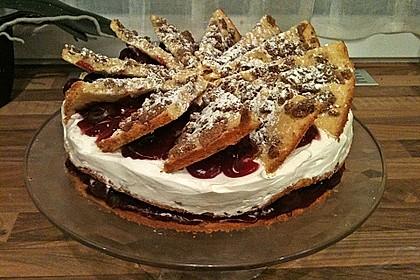 Spekulatius - Kirsch - Torte 7