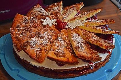 Spekulatius - Kirsch - Torte