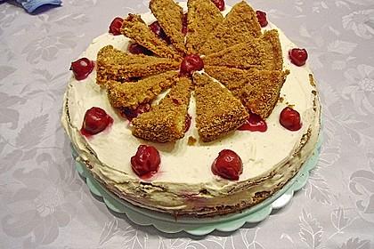 Spekulatius - Kirsch - Torte 33
