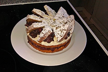 Spekulatius - Kirsch - Torte 32