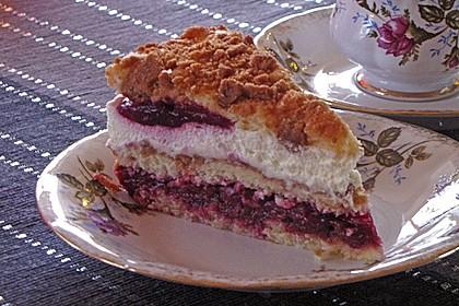 Spekulatius - Kirsch - Torte 30