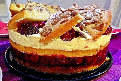 Spekulatius - Kirsch - Torte 9