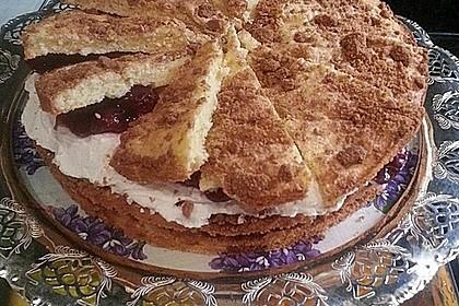 Spekulatius - Kirsch - Torte 25