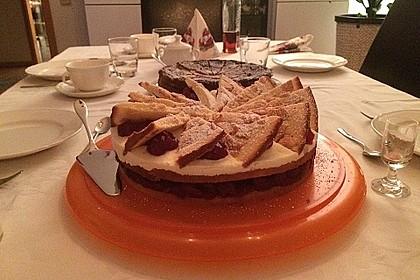 Spekulatius - Kirsch - Torte 12