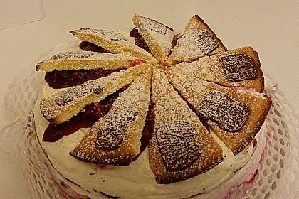 Spekulatius - Kirsch - Torte 18