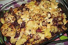Gnocchi - Rotkohl - Gratin mit Bratkartoffelhaube