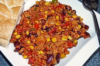 Vegetarisches Chili con carne 0