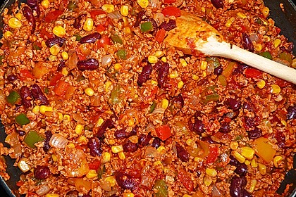 Vegetarisches Chili con carne 4