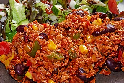 Vegetarisches Chili con carne 1