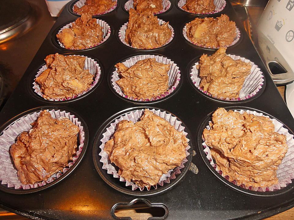 russische rum apfel muffins rezept mit bild von baerbel140. Black Bedroom Furniture Sets. Home Design Ideas