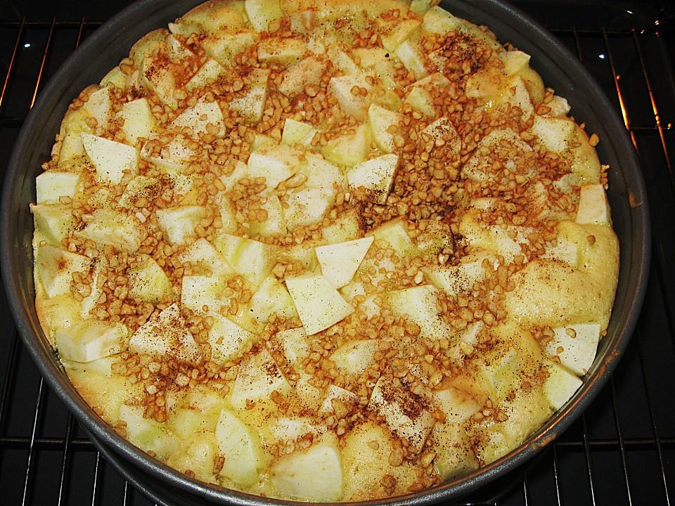 Apfel schmand kuchen glutenfrei