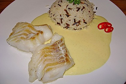 Fischfilet mit fruchtig - scharfer Mangosauce 2