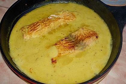 Fischfilet mit fruchtig - scharfer Mangosauce 11