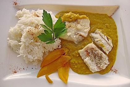 Fischfilet mit fruchtig - scharfer Mangosauce 3