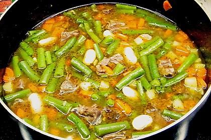Feine Bohnensuppe 3