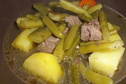 Feine Bohnensuppe 4