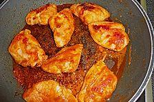 Putenschnitzel in Honig - Senf - Marinade