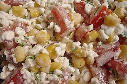 Gemüse - Hüttenkäse - Wraps 7