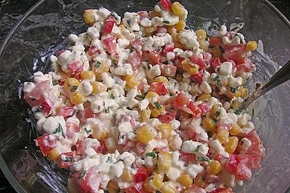Gemüse - Hüttenkäse - Wraps 9