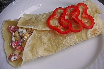 Gemüse - Hüttenkäse - Wraps 5