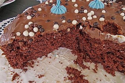 Schoko-Schoko Kuchen 3