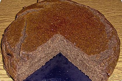 Tofu - Schokoladenkuchen mit Rum