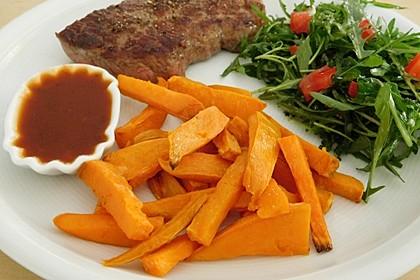 Süßkartoffel Pommes Frites 8