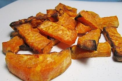 Süßkartoffel Pommes Frites 16