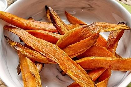 Süßkartoffel Pommes Frites 30